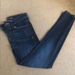 Express mid rise ankle leggings size 0